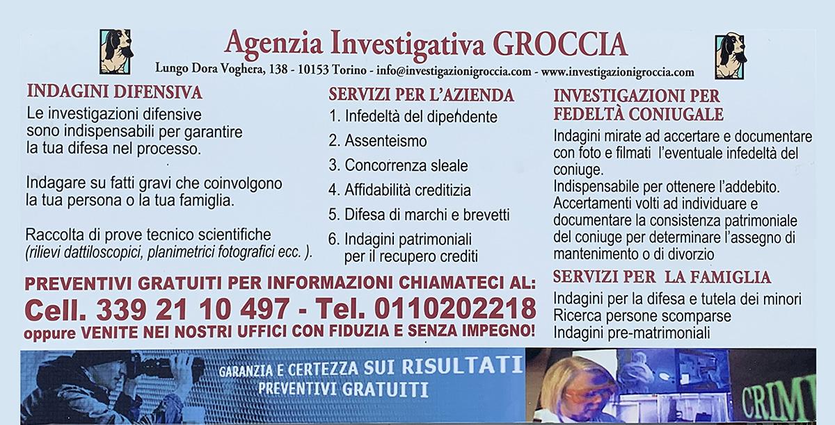 Agenzia investigativa Groccia